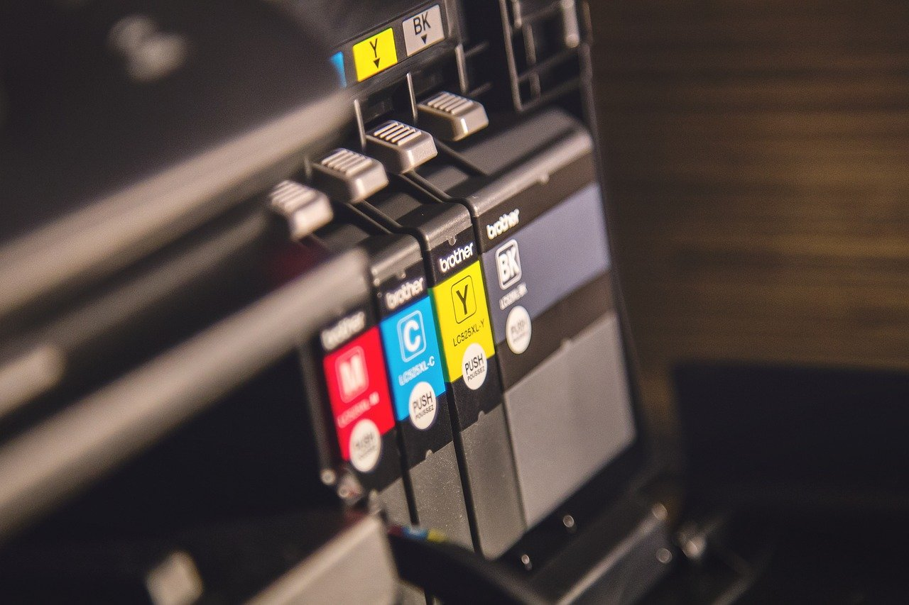 cartouches d'encre pour une imprimante